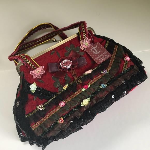 Handbags - Nwt Victorian style handmade handbag